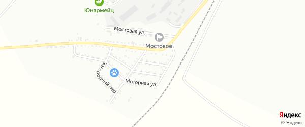 1-й Авиационный переулок на карте Белогорска с номерами домов