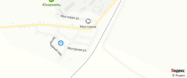 Линейная улица на карте Белогорска с номерами домов