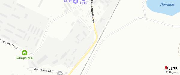 Улица Маяковская площадка 1 на карте Белогорска с номерами домов