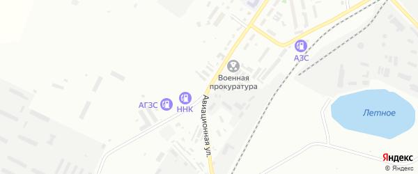Авиационная улица на карте Белогорска с номерами домов