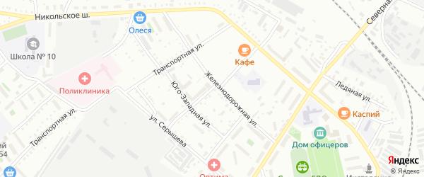 10-я Магистральная улица на карте Белогорска с номерами домов