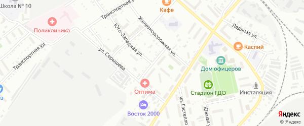 Советская улица на карте Белогорска с номерами домов
