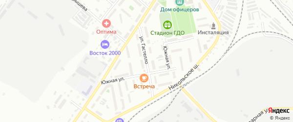 Улица Гастелло на карте Белогорска с номерами домов
