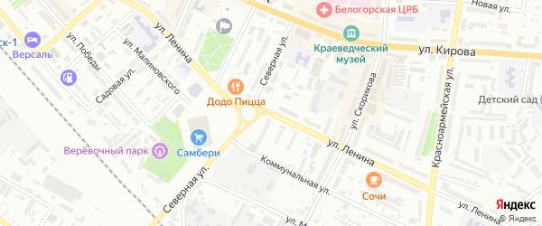 Улица Ленина на карте Белогорска с номерами домов