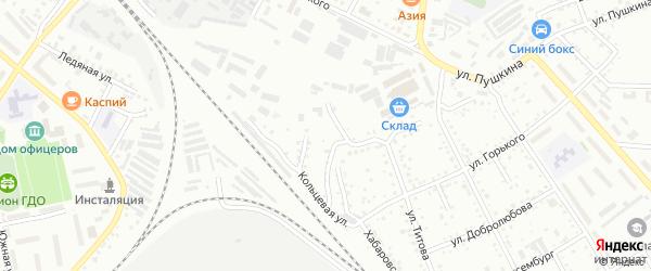 Кольцевая улица на карте Белогорска с номерами домов