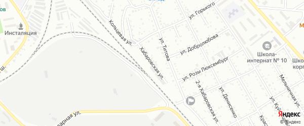Хабаровская улица на карте Белогорска с номерами домов