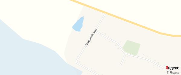 Северный переулок на карте села Николо-Александровки с номерами домов
