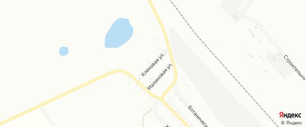 Кленовая улица на карте Белогорска с номерами домов