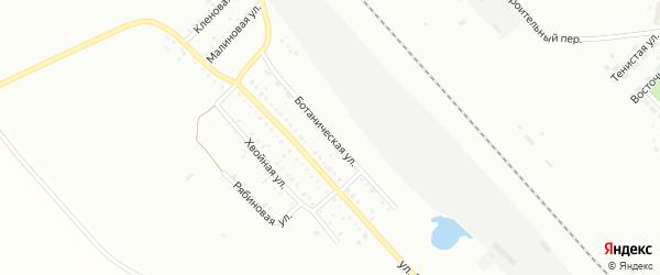 Ботаническая улица на карте Белогорска с номерами домов