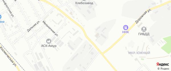 Улица 50 лет Комсомола на карте Белогорска с номерами домов