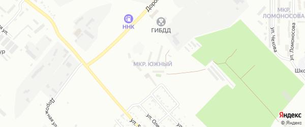 Южная улица на карте Свободного с номерами домов