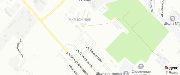 Ремонтная улица на карте Белогорска с номерами домов