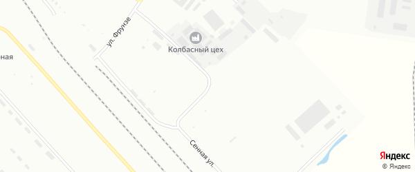 Сенная улица на карте Белогорска с номерами домов