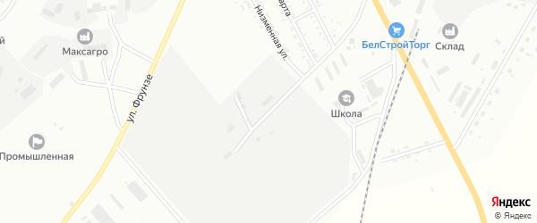 Улица Радиостанция на карте Белогорска с номерами домов