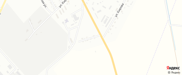 Зоологический переулок на карте Белогорска с номерами домов