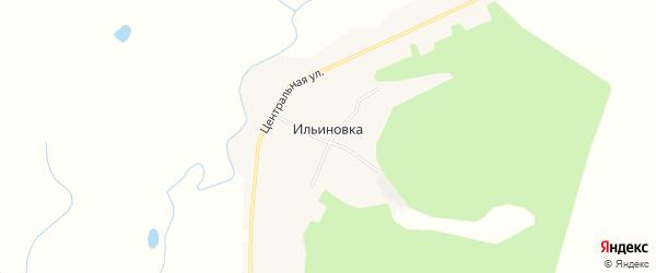 Карта села Ильиновки в Амурской области с улицами и номерами домов