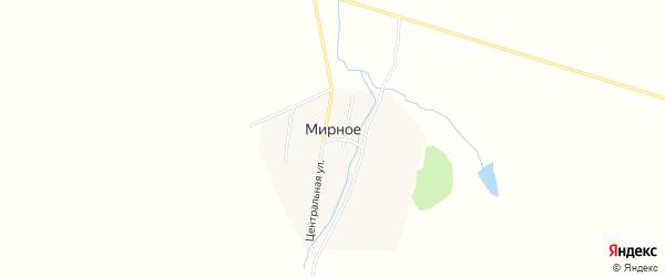 Карта Мирного села в Амурской области с улицами и номерами домов