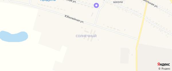 Солнечный микрорайон на карте села Васильевки с номерами домов
