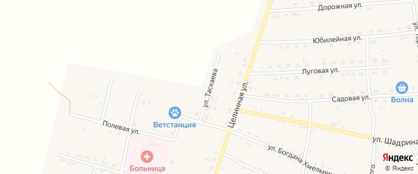 Улица Таскаева на карте села Поярково с номерами домов