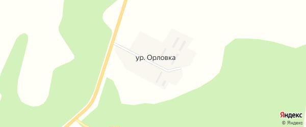 Авиационная улица на карте городка Серышева-2 с номерами домов
