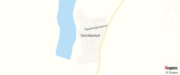 Карта Заозерного села в Амурской области с улицами и номерами домов