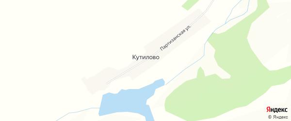 Карта села Кутилово в Амурской области с улицами и номерами домов