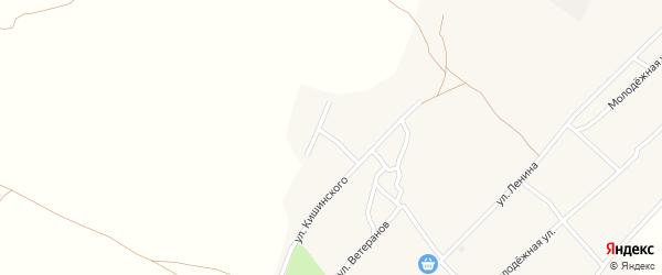 Дубовая улица на карте села Михайловки с номерами домов