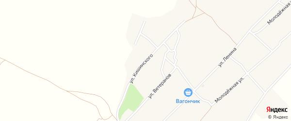Улица Им Н.Н.Кишинского на карте села Михайловки с номерами домов
