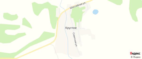 Карта Круглого села в Амурской области с улицами и номерами домов