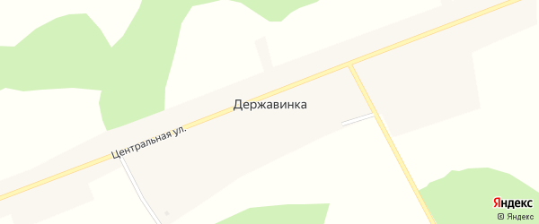 Хуторская улица на карте села Державинки с номерами домов