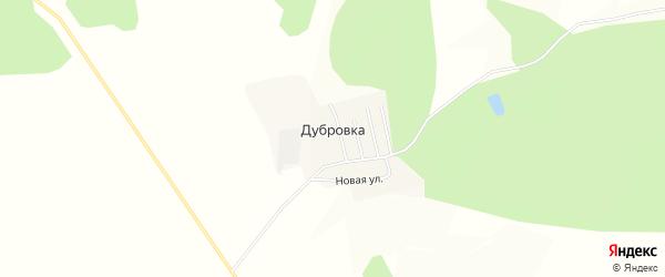 Карта села Дубровки в Амурской области с улицами и номерами домов