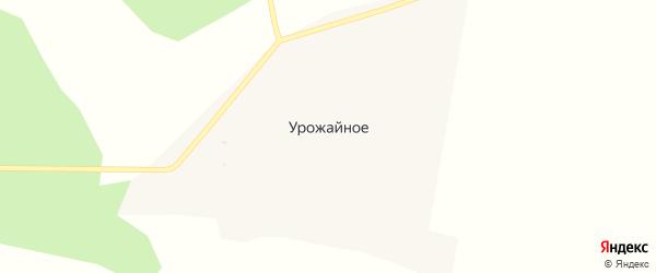 Зеленая улица на карте Урожайного села с номерами домов