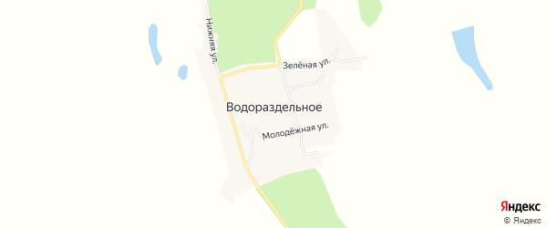 Карта Водораздельного села в Амурской области с улицами и номерами домов