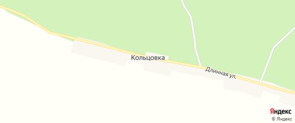 Длинная улица на карте села Кольцовки с номерами домов