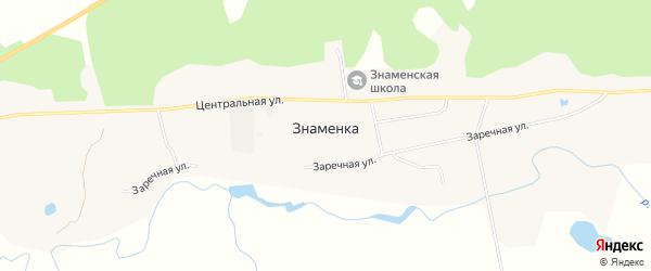 Карта села Знаменки в Амурской области с улицами и номерами домов