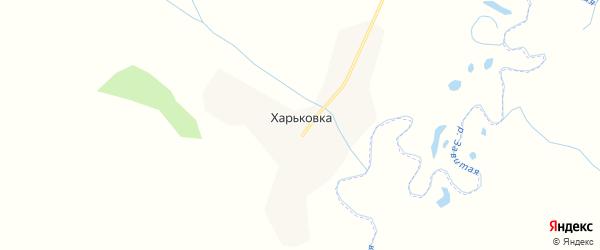 Карта села Харьковки в Амурской области с улицами и номерами домов