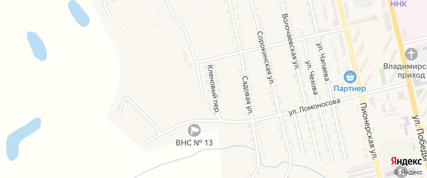 Кленовый переулок на карте Райчихинска с номерами домов