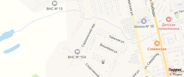 Звездная улица на карте Райчихинска с номерами домов