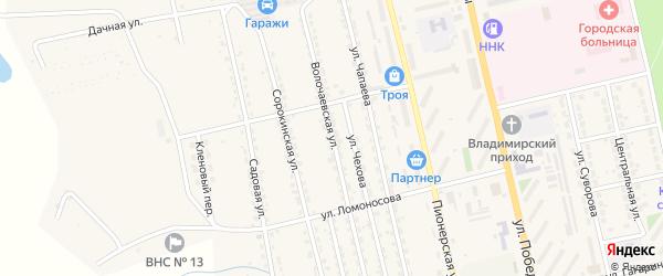 Волочаевская улица на карте Райчихинска с номерами домов