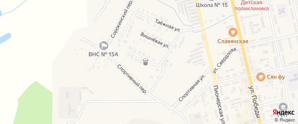 Рябиновая улица на карте Райчихинска с номерами домов