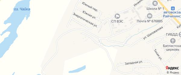 Западно-Отвальная улица на карте Райчихинска с номерами домов