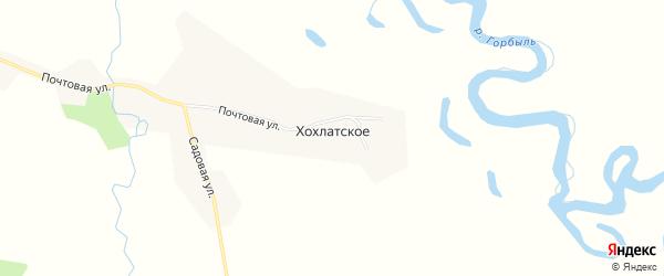 Карта Хохлатского села в Амурской области с улицами и номерами домов