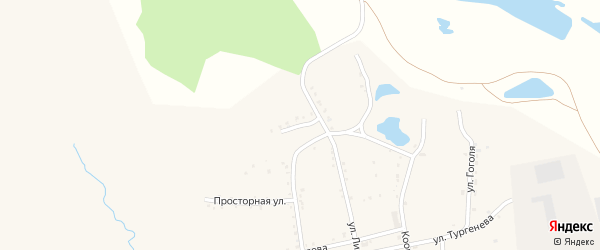 Слободская улица на карте населенного пункта Зельвино с номерами домов