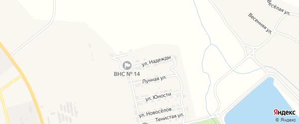 Улица Надежды на карте Райчихинска с номерами домов