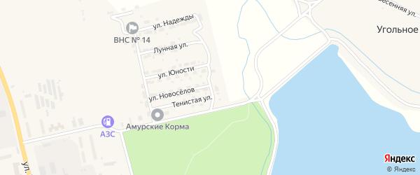 Ольховая улица на карте Райчихинска с номерами домов