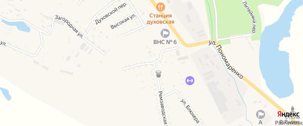 Ремзаводской переулок на карте Райчихинска с номерами домов
