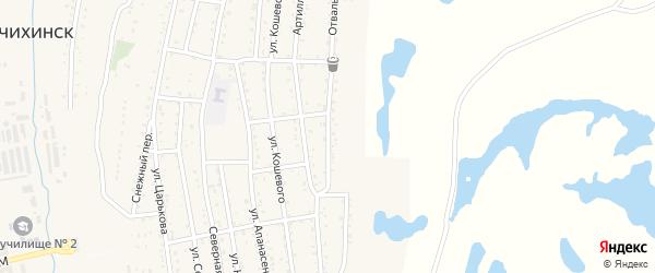 Отвальная улица на карте Райчихинска с номерами домов