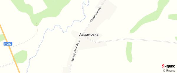 Карта села Аврамовки в Амурской области с улицами и номерами домов