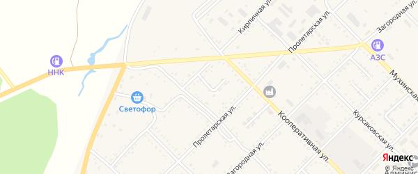 Дорожный переулок на карте Завитинска с номерами домов