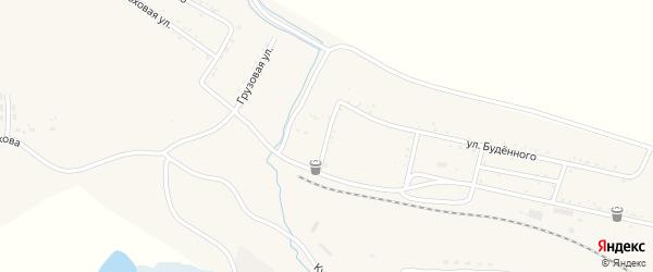Клубный переулок на карте Райчихинска с номерами домов